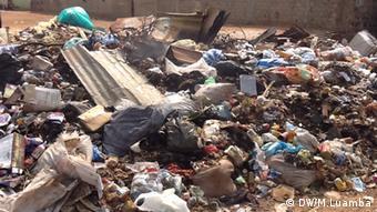 Luanda Angola Müll Müllproblem Problem
