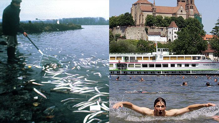 Symbolbild Deutsche Lösungen für Umweltprobleme - Rhein v2