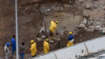 China Hohe Zyanid-Werte im Wasser in Tianjin