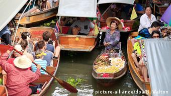 Thailand Markt in Ratchaburi