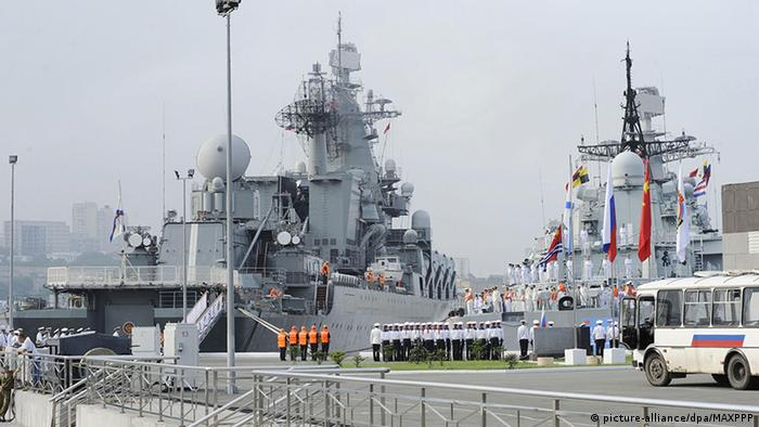 Manöver Russland China Japanisches Meer