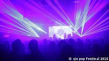 c/o pop Festival 2015 Live Konzert Bühne Ratatat