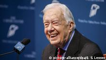 USA Georgia Pressekonferenz Jimmy Carter