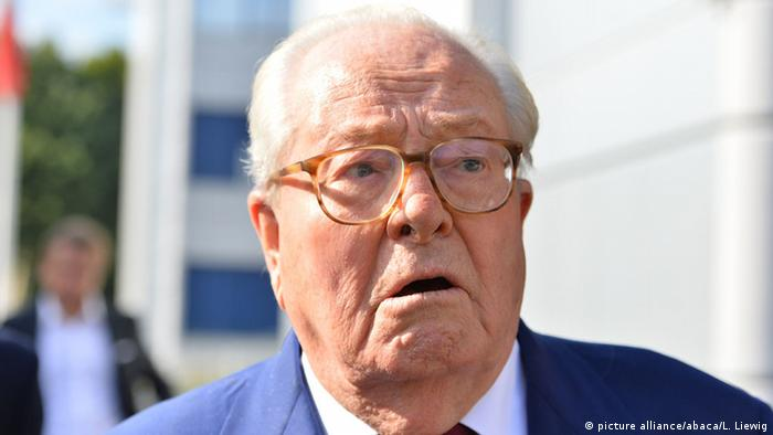 Front National-Gründer Jean-Marie Le Pen (picture alliance/abaca/L. Liewig)
