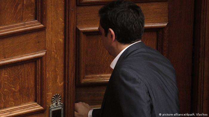Griechenland Alexis Tsipras Rücktritt (Symbolbild)