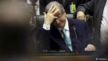 Brasilien eduardo cunha parlament korruption petrobras