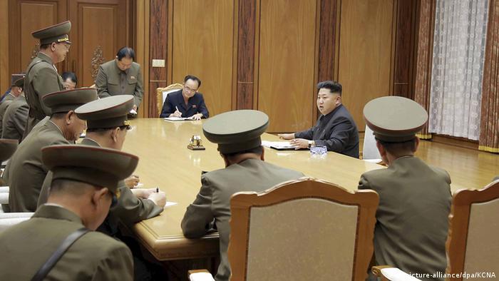 Nordkorea Kim Jong Un WPK Meeting Treffen Besprechung