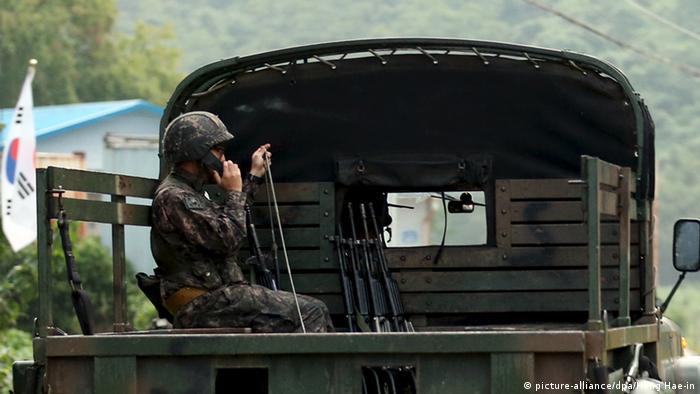 Südkorea Grenze Soldat DMZ