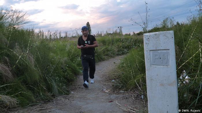 2015. su izbeglice ovako, bez veäih problema, prelazile granicu Srbija i Severne Makedonije