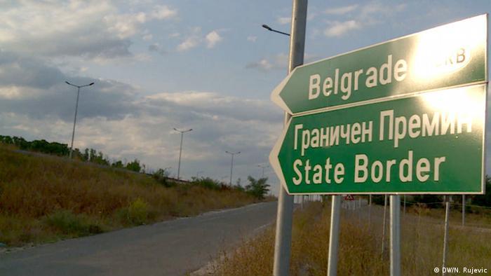 Mazedonien Flüchtlingsdrama Tabanovce