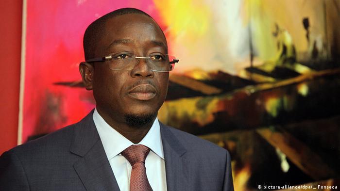 Guinea-Bissau Prime Minister Baciro Dja