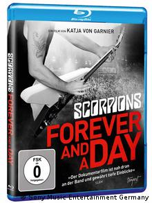 Scorpions-DVD Forever And A Day Packshot der Blu-ray (Sony Music Entertainment Germany)