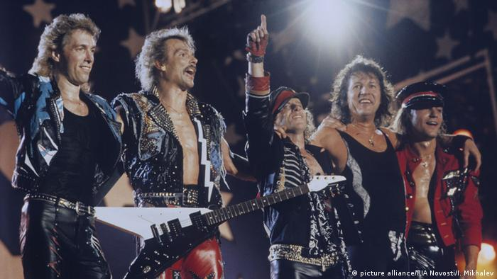 Scorpions-DVD Forever And A Day (picture alliance/RIA Novosti/I. Mikhalev)
