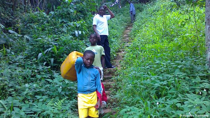 Water project in Cameroon.