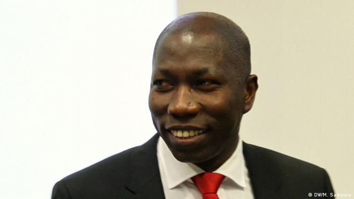 Geberkonferenz von Guinea-Bissau in Brüssel Domingos Simoes Pereira (DW/M. Sampaio)