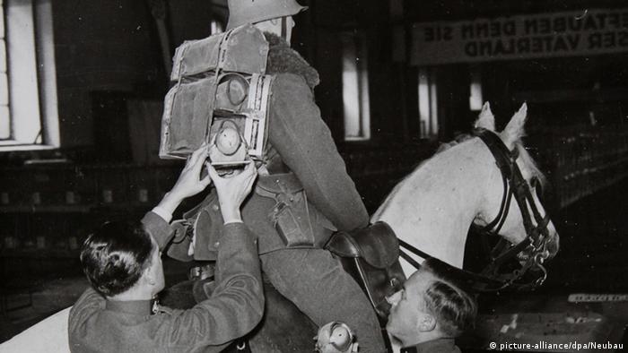 Bildergalerie Tiere im Krieg Brieftauben