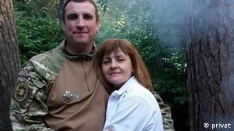 Екс-командир підрозділу батальйону Донбас Дмитро Куліш та його дружина Світлана