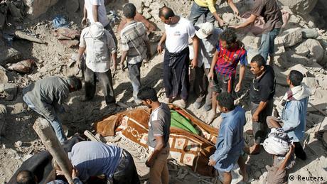 Dutzende tote Zivilisten bei Luftangriff im Jemen - Taiz (Reuters)