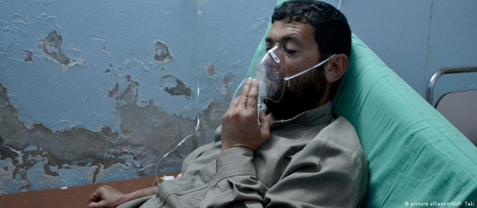 Gás cloro foi usado em ataque na província de Idlib em março de 2015