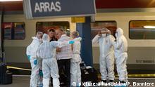 Frankreich, Mann schießt im Zug von Paris nach Amsterdam