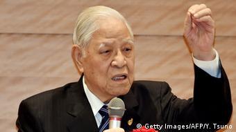 Japan Lee Teng-hui Ex-Präsident von Taiwan