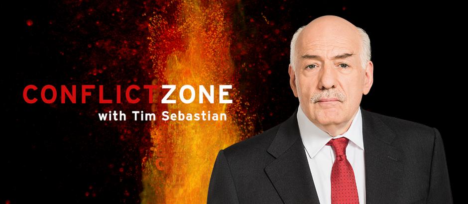 08.2015 DW Conflict Zone with Tim Sebastian Ankündigung