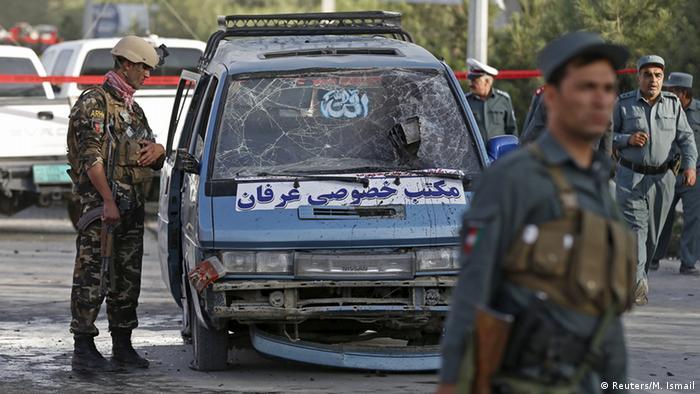 Selbstmordanschlag in Kabul