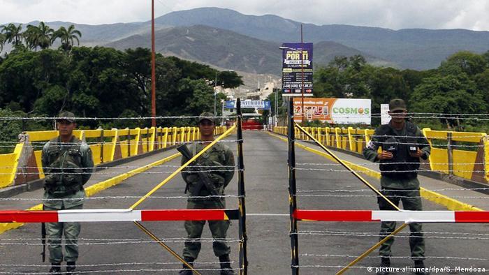 Grenze zwischen Venezuela und Kolumbien geschlossen