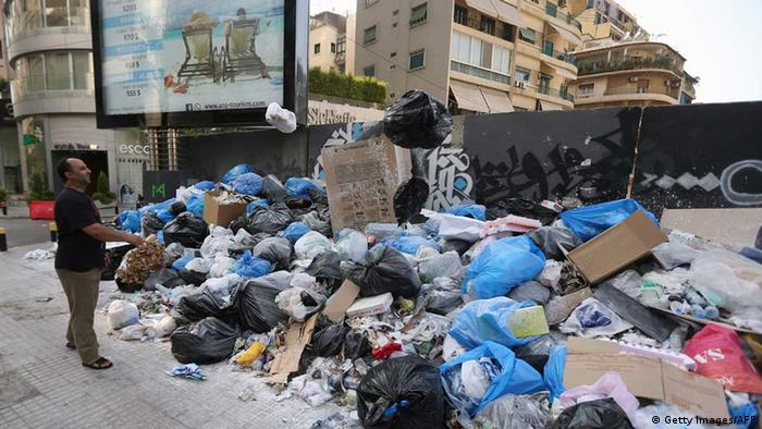 Libanon: Müllnotstand in Beirut