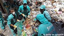 Libanon: Entsorgung stinkender Müllberge in Beirut