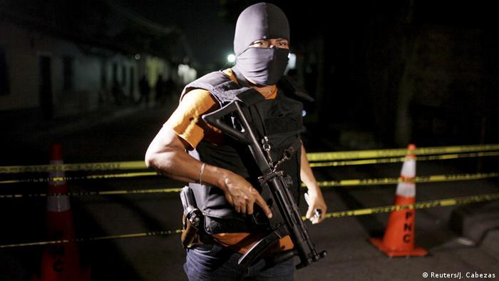 El Salvador Gefängnisaufstand in Quezaltepeque