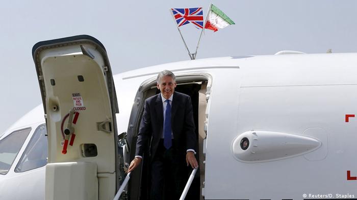 Iran Teheran Britische Botschaft Wiedereröffnung