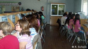 Frauenhaus und Frauenbildungsstätte Huamachuco Frauenfortbildung