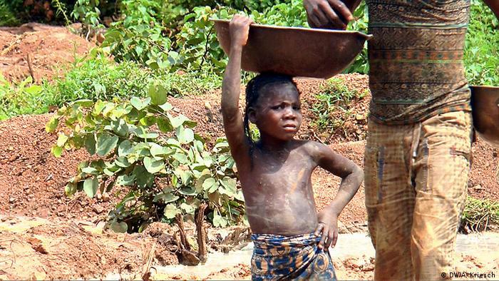 Tödliche Kinderarbeit in Nigeria Erschreckende Realität