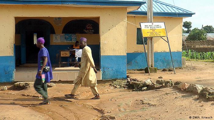 Tödliche Kinderarbeit in Nigeria Provisorische Praxis