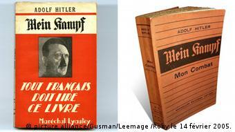 Французское и оригинальное немецкое издания Mein Kampf
