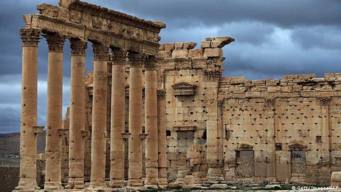 Syrien: Der Baalschamin-Tempel in Palmyra vor der Zerstörung