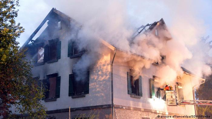 Cămin de solicitanţi de azil incendiat în Germania