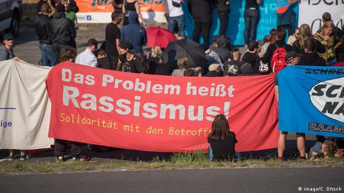 Deutschland Gegendemos in Heidenau