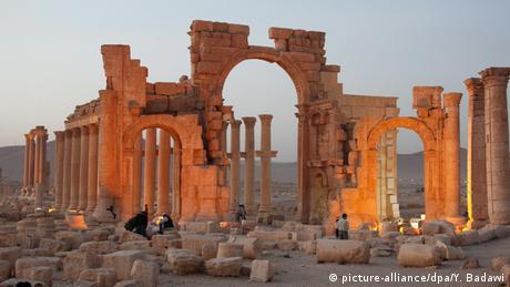 Syria Palmyra Damaskus Zerstörung IS