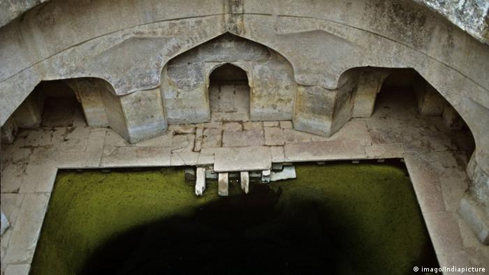 Step-well in India.