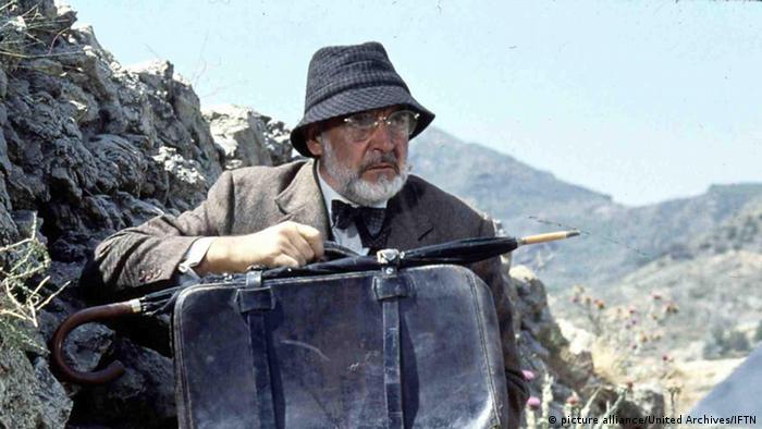 Bildergalerie zum 85. Geburtstag von Sean Connery in Indiana Jones (picture alliance/United Archives/IFTN)