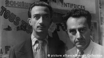 Künstler Man Ray mit Salvador Dali