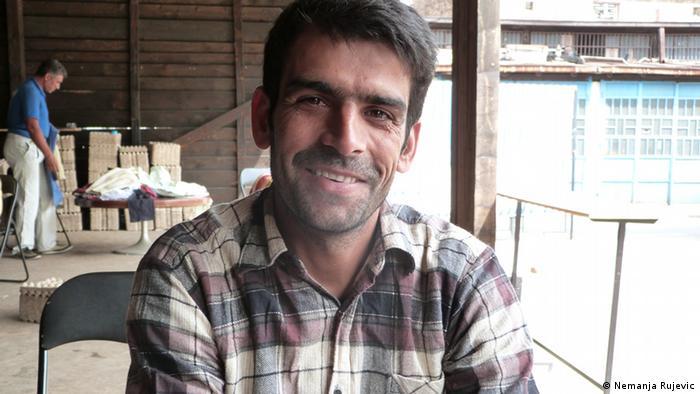 Mohammad aus Afghanistan Flüchtling Serbien Belgrad