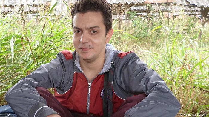 Milad aus Syrien Flüchtling IT Experte Serbien Subotica