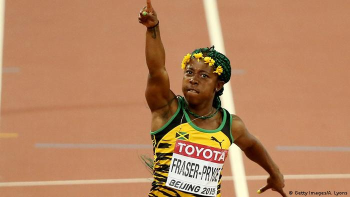 China, Shelly-Ann Fraser-Pryce Leichtathletik WM