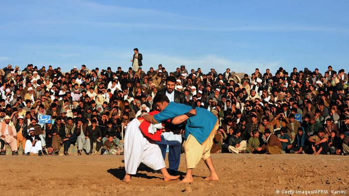 Afghanistan Ringkampf (Getty Images/AFP/A. Karimi)