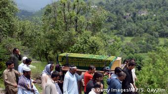 Kaschmir Grenzstreitigkeiten Indien Pakistan Verletzung Waffenruhe