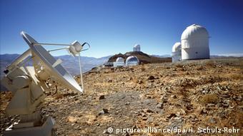 Европейская южная обсерватория в Чили