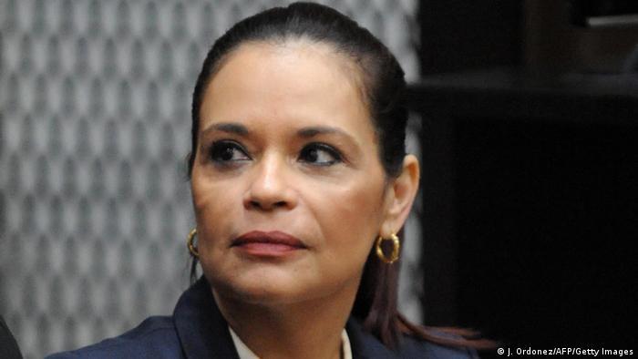 Guatemala Roxana Baldetti vor Gericht (J. Ordonez/AFP/Getty Images)